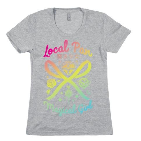 Local Pan Magical Girl Womens T-Shirt