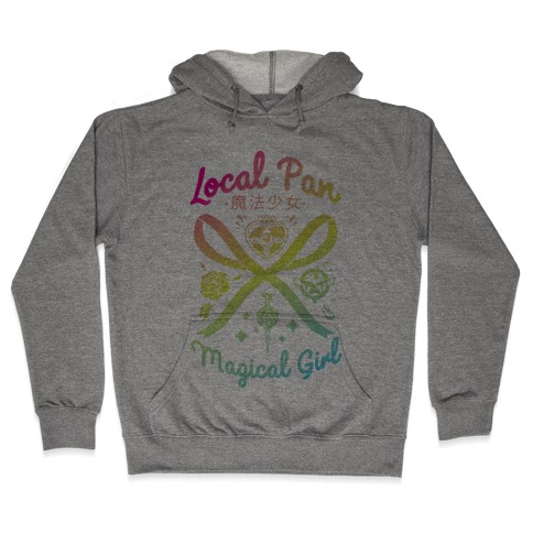 Local Pan Magical Girl Hooded Sweatshirt