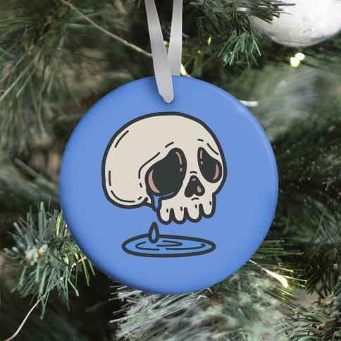 Sensitive Skull Ornament