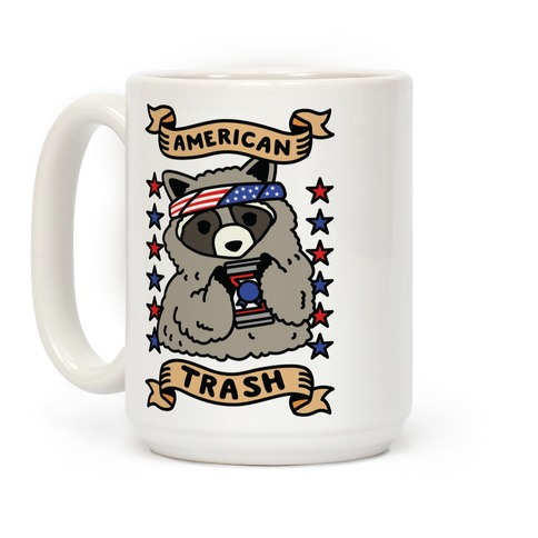 American Trash Coffee Mug