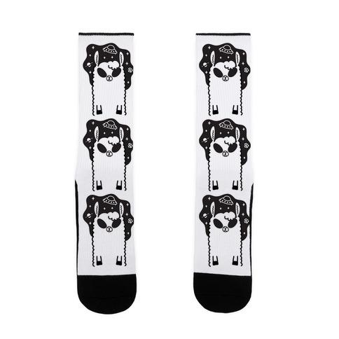 Allien - Llama Alien Sock