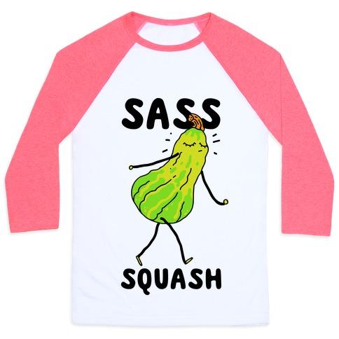 Sass Squash Baseball Tee