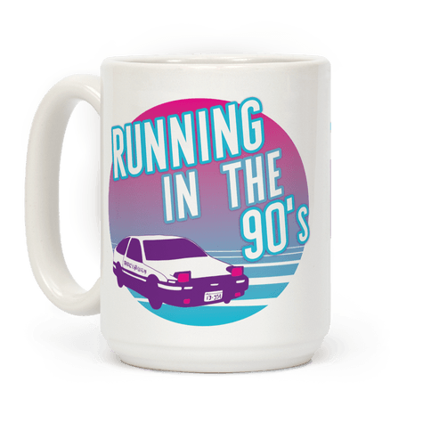 Running in the 90's  Coffee Mug