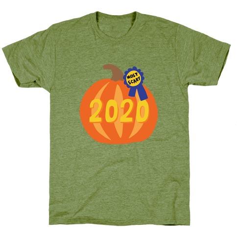 2020 : The Scariest Pumpkin T-Shirt