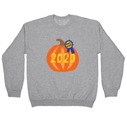 2020 : The Scariest Pumpkin Pullover