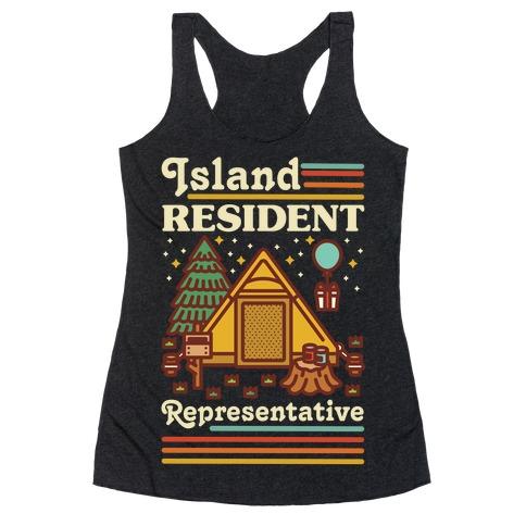 Island Resident Representative Racerback Tank Top