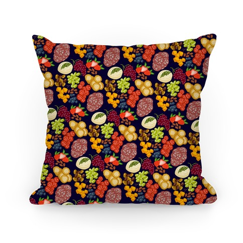 Charcuterie Board Pattern Pillow
