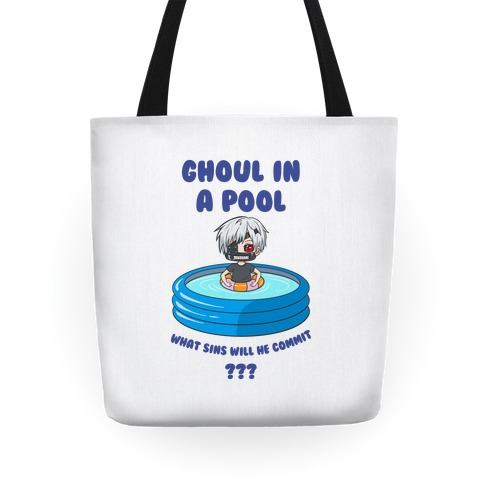 Ghoul In a Pool What Sins Will He Commit??? Tote