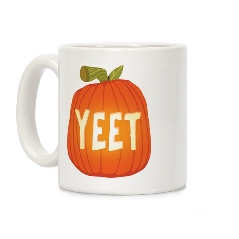 Yeet Pumpkin Coffee Mug