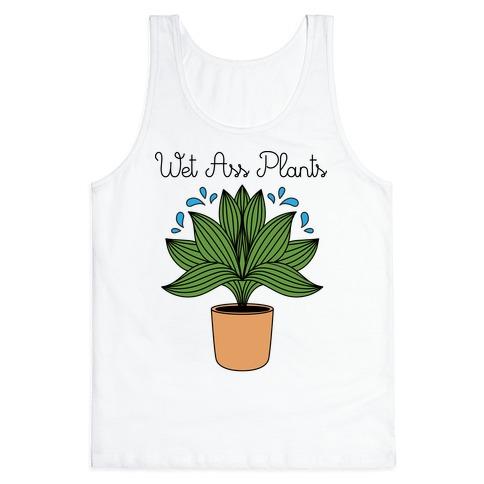Wet Ass Plants WAP Parody Tank Top