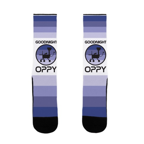 Goodnight Oppy Sock