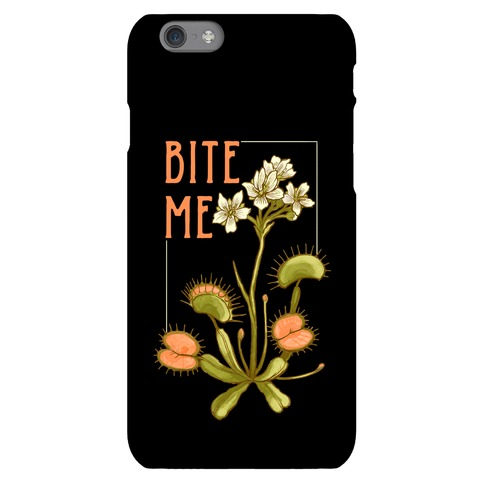Bite Me Venus Flytrap Phone Case