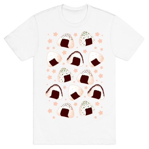 Onigiri pattern T-Shirt