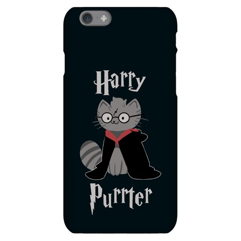 Harry Purrter Phone Case