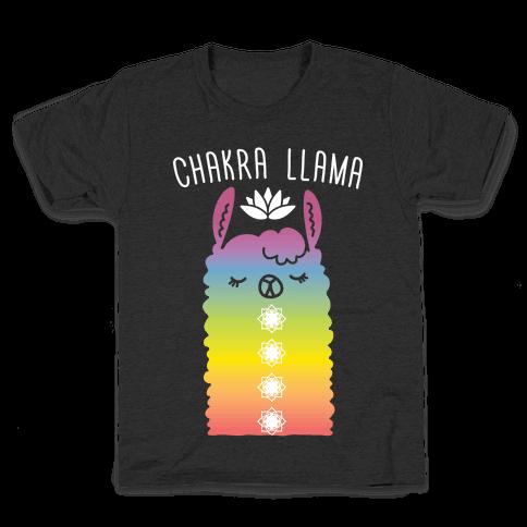Chakra Llama Kids T-Shirt
