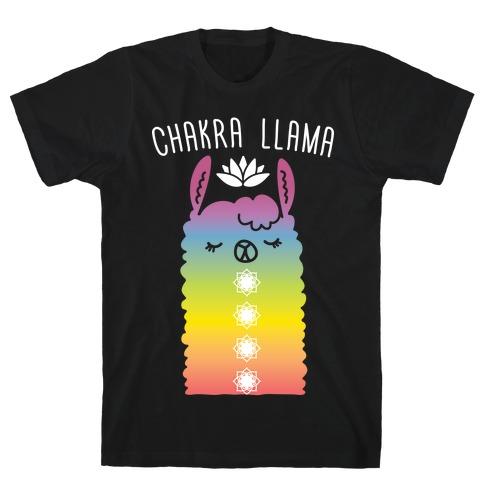 Chakra Llama T-Shirt