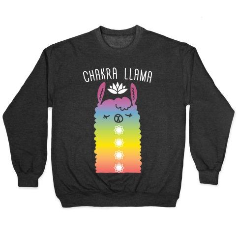 Chakra Llama Pullover