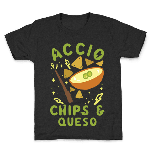 Accio Chips and Queso Kids T-Shirt