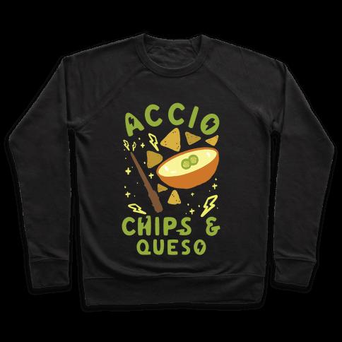 Accio Chips and Queso Pullover