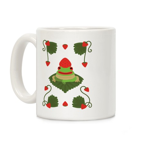 Strawberry Frog Coffee Mug