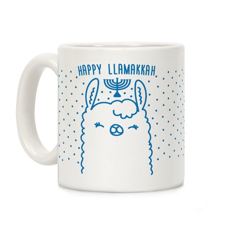Happy Llamakkah Coffee Mug