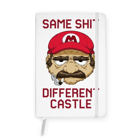 Same Shit Different Castle Notebook