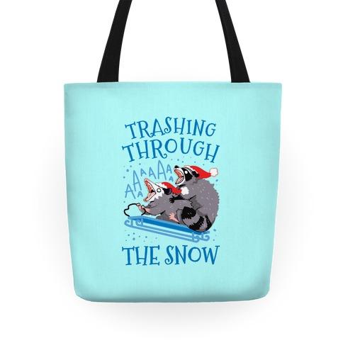 Trashing Through The Snow Tote