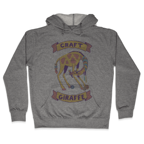 Craft Giraffe  Hooded Sweatshirt