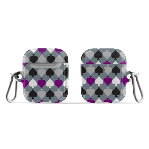 Ace Pride Pattern  AirPod Case
