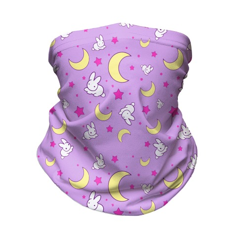 90s Magical Girl Anime Neck Gaiter