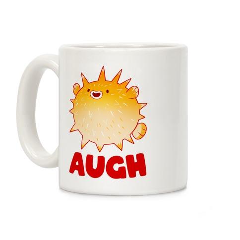 Augh Pufferfish Coffee Mug
