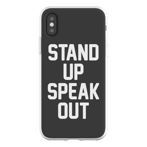 Stand Up Speak Out Phone Flexi-Case