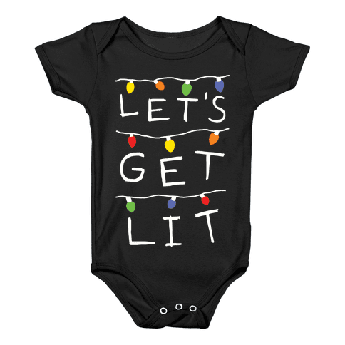 Lit Baby Onesies Lookhuman