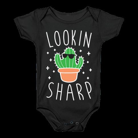Lookin Sharp Baby Onesy