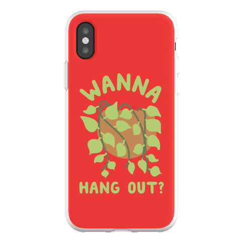 Wanna Hang Out? Phone Flexi-Case
