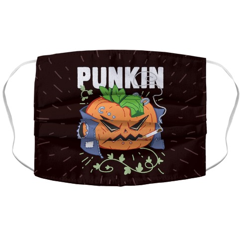 Punkin Accordion Face Mask