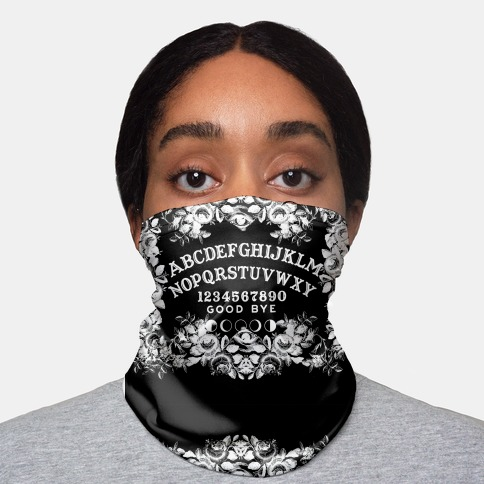 Ouija Board Neck Gaiter