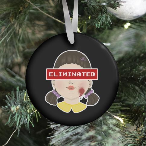 Eliminated (Squid Game) Ornament
