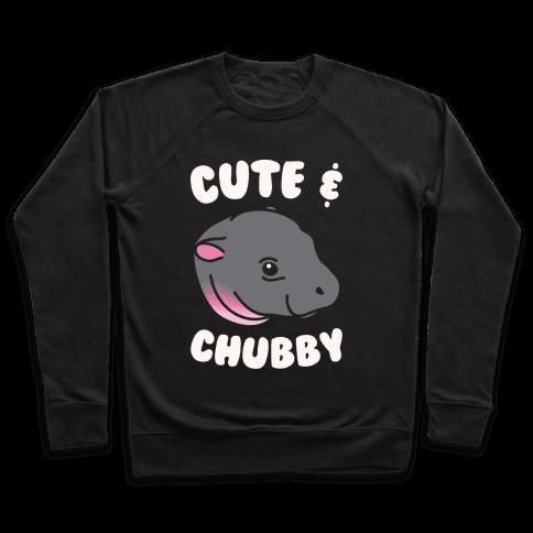 Cute & Chubby White Print Pullover
