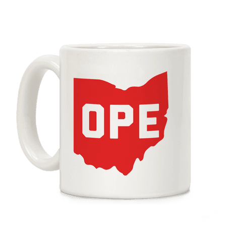 Ope Ohio Coffee Mug