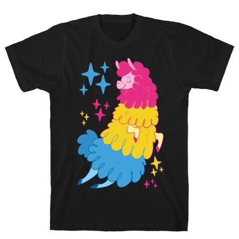 Pansexual Llama T-Shirt