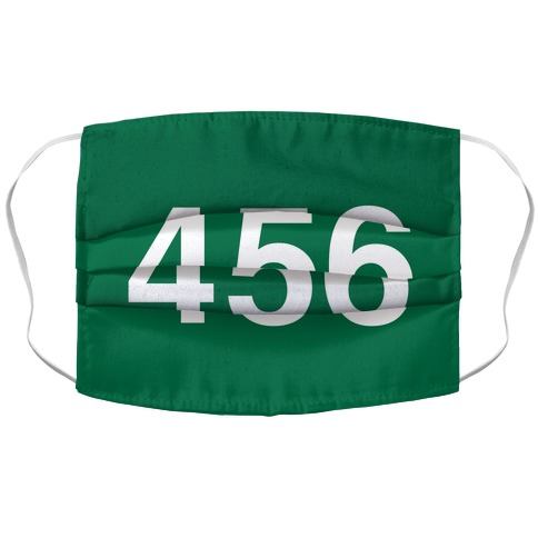 Player Numbers Accordion Face Mask