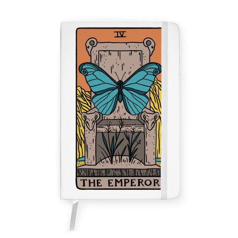The Emperor Butterfly Tarot Notebook