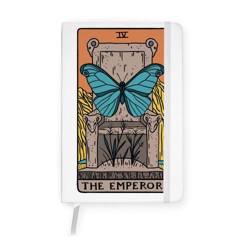The Emperor Butterfly Tarot Notebook