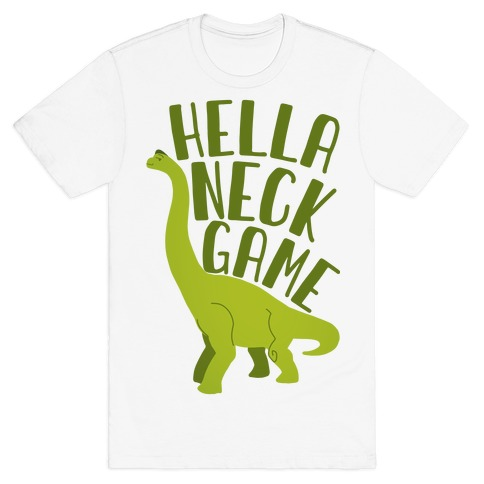 Hella Neck Game Brachiosaurus T-Shirt
