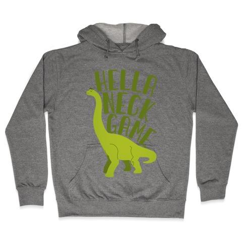 Hella Neck Game Brachiosaurus Hooded Sweatshirt