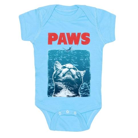 PAWS (Jaws Parody) Baby Onesy