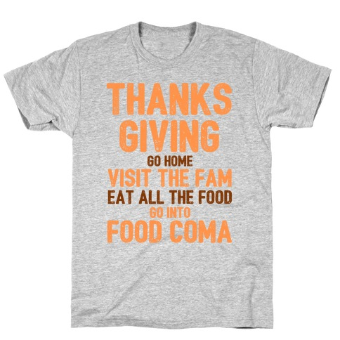 Thanksgiving Foodie T-Shirt