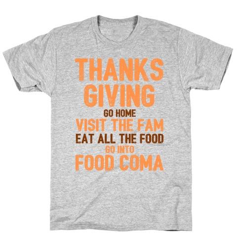 Thanksgiving Foodie T-Shirt