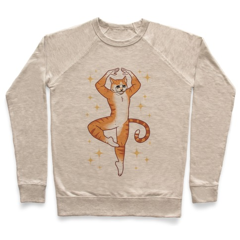 Dancing Crying Cat Meme Pullover